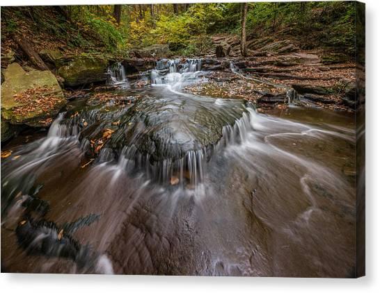 Ricketts Glen State Park Pennsylvania Cascades Canvas Print