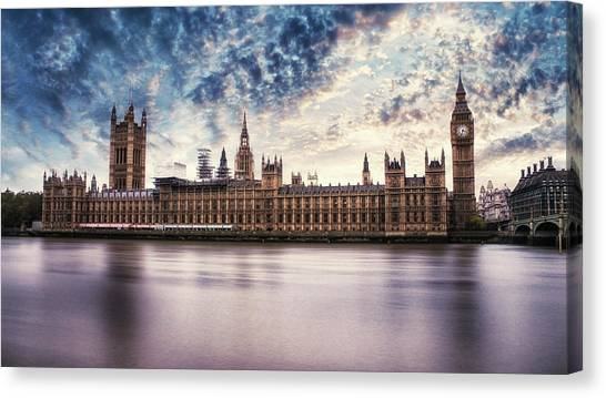 Parliament Canvas Print - Westminster by Martin Newman