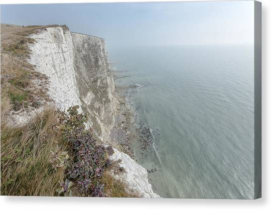 St Margaret Canvas Print - White Cliffs Of Dover by Ian Hufton