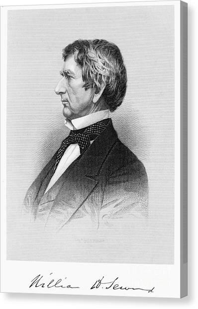 William Seward (1801-1872) Canvas Print by Granger