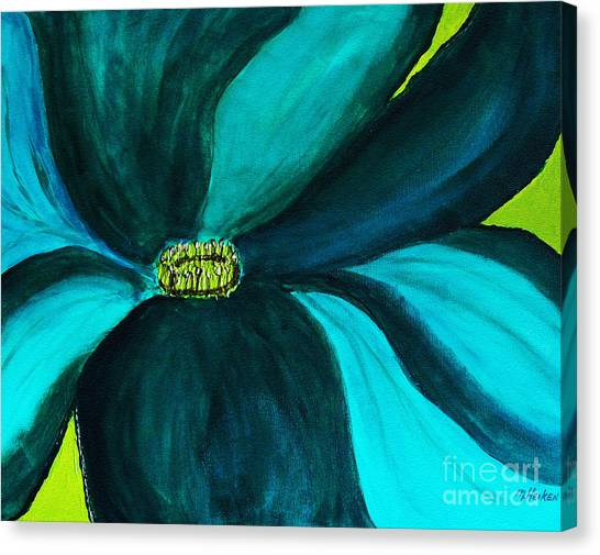 Windmill Flower Canvas Print