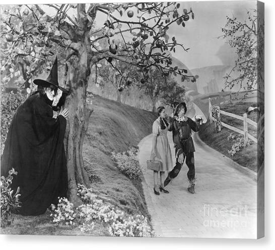 Roads Canvas Print - Wizard Of Oz, 1939 by Granger