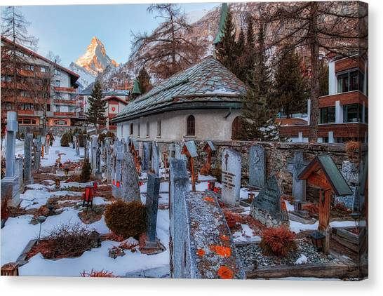 Matterhorn Canvas Print - Zermatt - Switzerland by Joana Kruse
