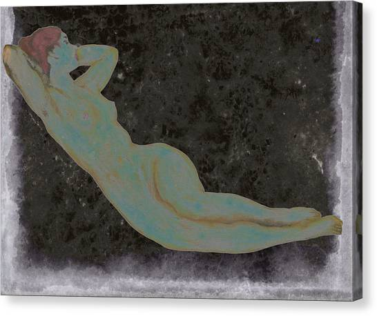 Nude Woman Canvas Print