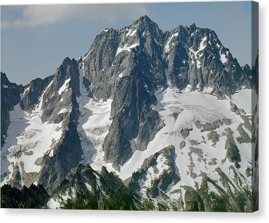 304630 North Face Mt. Stuart Canvas Print