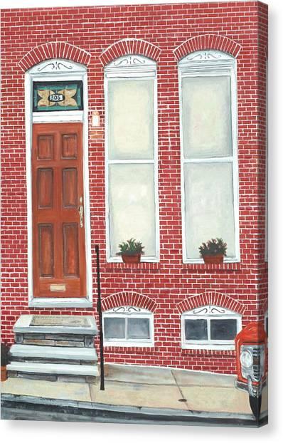 305 Hamburg Canvas Print by John Schuller