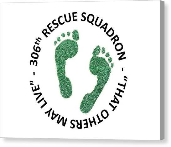 306th Rescue Squadron Canvas Print
