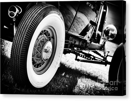Street Rods Canvas Print - 30s Rod by Tim Gainey