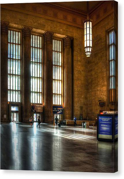 30th Street Station Canvas Print