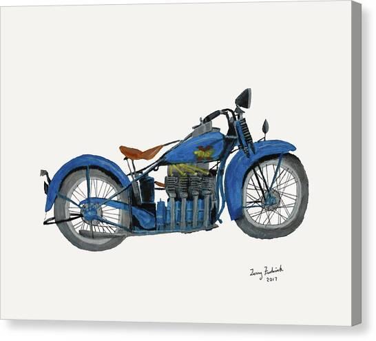 31 Henderson Kj Canvas Print