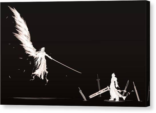 Final Fantasy Canvas Print - 31023 Final Fantasy by Mery Moon