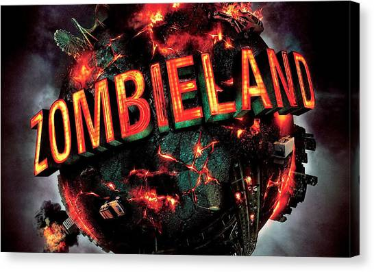Zombieland Canvas Print - 31309 Zombieland by Mery Moon