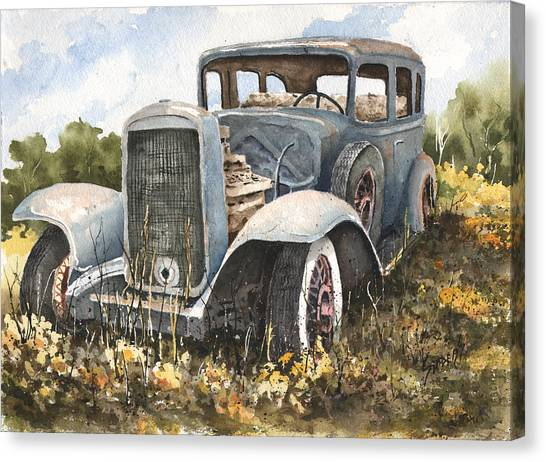 32 Buick Canvas Print