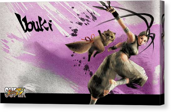 Street Fighter Canvas Print - 32943 Street Fighter by Mery Moon