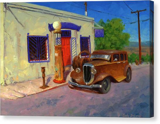 Old Trucks Canvas Print - 33 Studebaker  by Cody DeLong