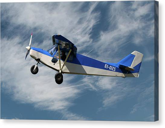 Land Canvas Print - Brm Land Africa by Smart Aviation