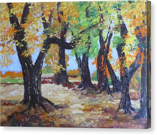 #35 Cottonwood Colors Canvas Print