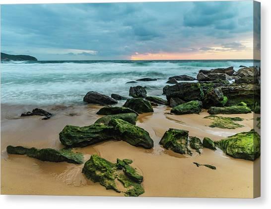 Dawn Seascape Canvas Print