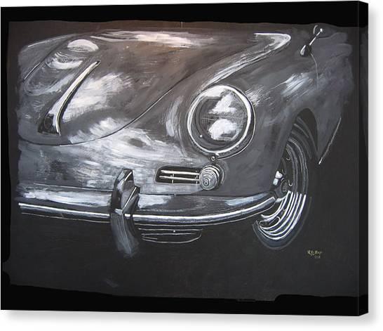 356 Porsche Front Canvas Print