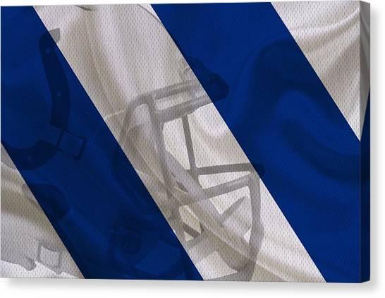 Indianapolis Colts Canvas Print - Indianapolis Colts by Joe Hamilton