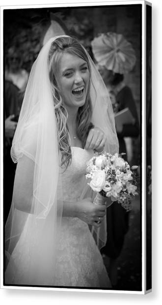 Tim And Finn Wedding 2012 Canvas Print