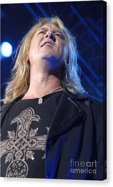 Def Leppard Canvas Print - Def Leppard by Jenny Potter