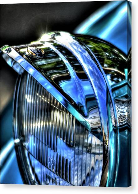 38 Ford Headlamp Canvas Print