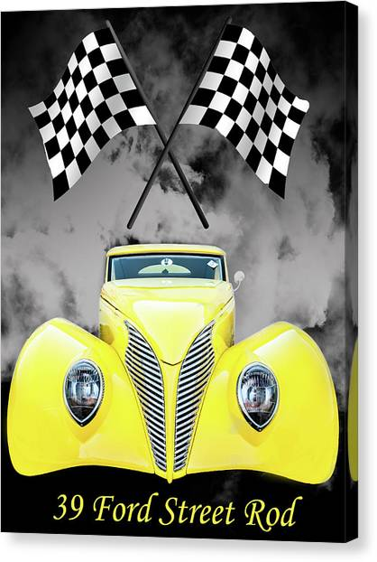 39 Ford Canvas Print