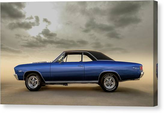 Muscles Canvas Print - 396 Super Sport by Douglas Pittman