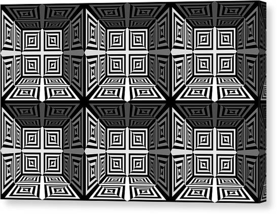 Eye-catching Canvas Print - 3d 253d2 by Mike McGlothlen