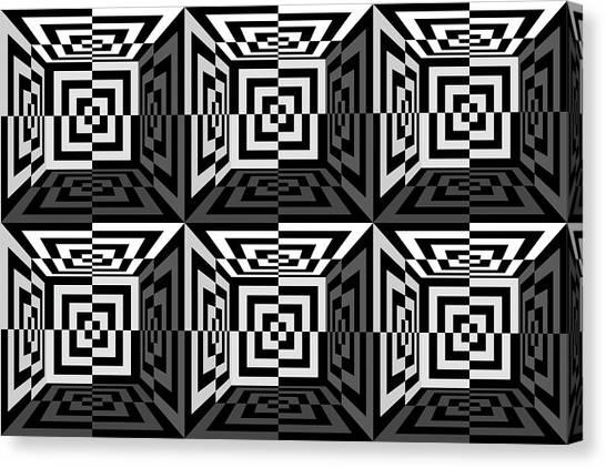 Eye-catching Canvas Print - 3d B2  by Mike McGlothlen