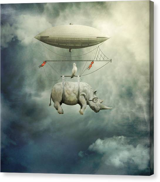 Surrealism Canvas Print - ... by Beata Bieniak