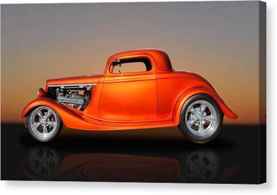 1933 Ford 3 Window Coupe Canvas Print