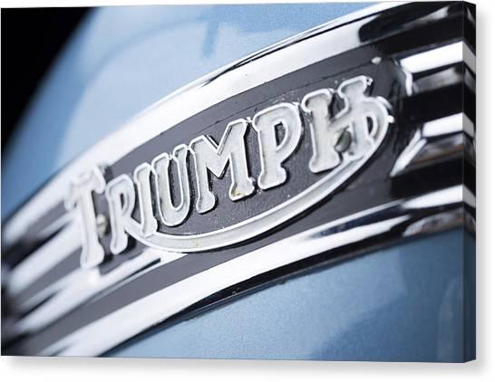 1949 Triumph Trophy Canvas Print