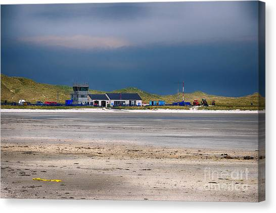 Airports Canvas Print - Barra Airport by Smart Aviation