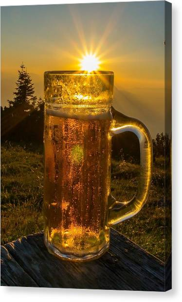 Lager Canvas Print - Beer by Jackie Russo