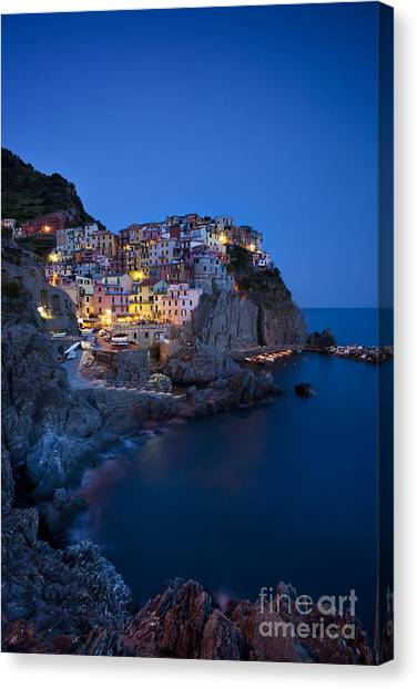 Canvas Print featuring the photograph Cinque Terre by Brian Jannsen