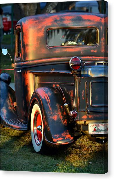 Classic Ford Pickup Canvas Print