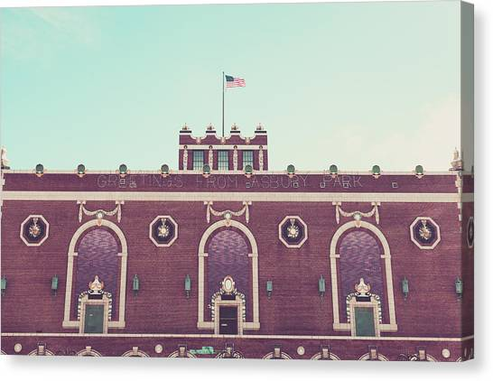 Convention Hall Canvas Print by Erin Cadigan