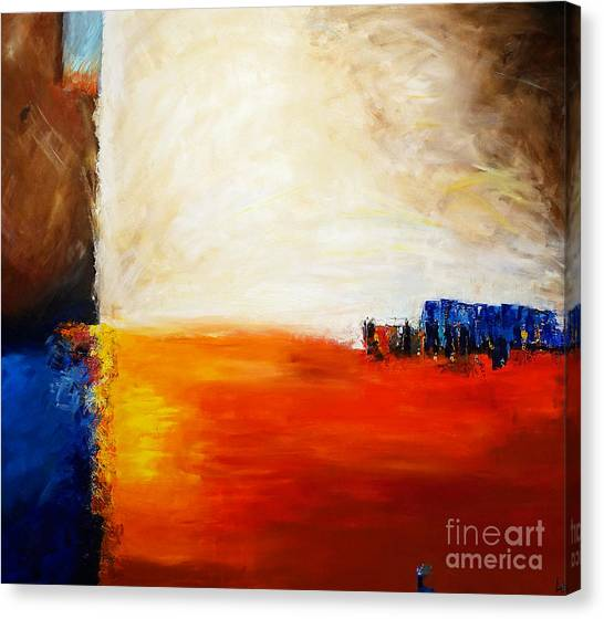4 Corners Landscape Canvas Print