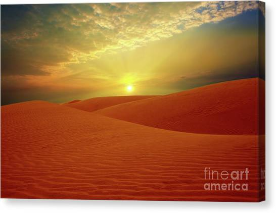 Gobi Desert Canvas Print - Desert by MotHaiBaPhoto Prints