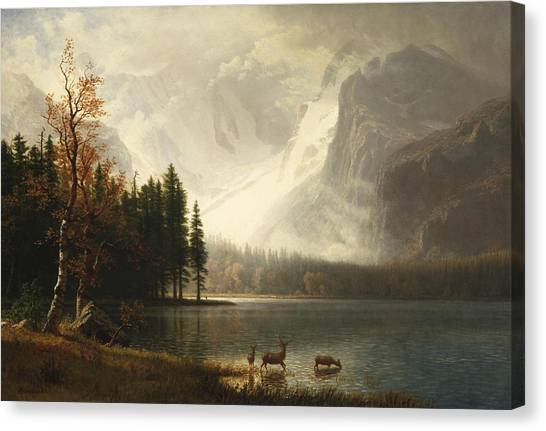 Estes Park, Colorado, Whyte's Lake Canvas Print