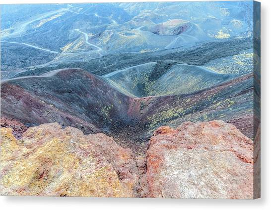 Mount Etna Canvas Print - Etna - Sicily by Joana Kruse