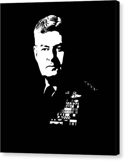 Air Force Canvas Print - General Curtis Lemay by War Is Hell Store