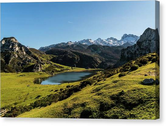 Canvas Print - Glacier Formed by Ric Schafer
