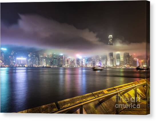 Hong Kong Stunning Skyline Canvas Print
