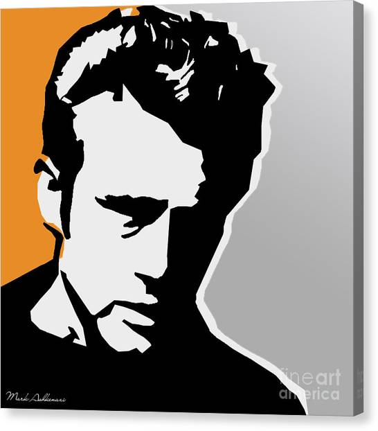 James Dean Canvas Print - James Dean  by Mark Ashkenazi