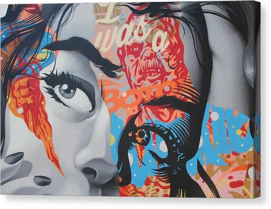 La Street Art Canvas Print