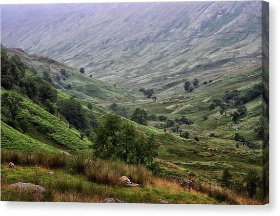 Keswick Canvas Print - Lake District by Martin Newman