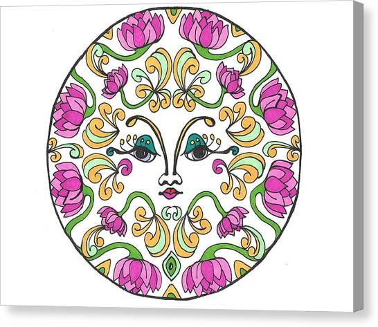 Lotus Princess Canvas Print